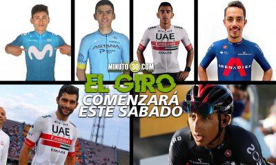 Seis ciclistas colombianos participaran en el Giro de Italia