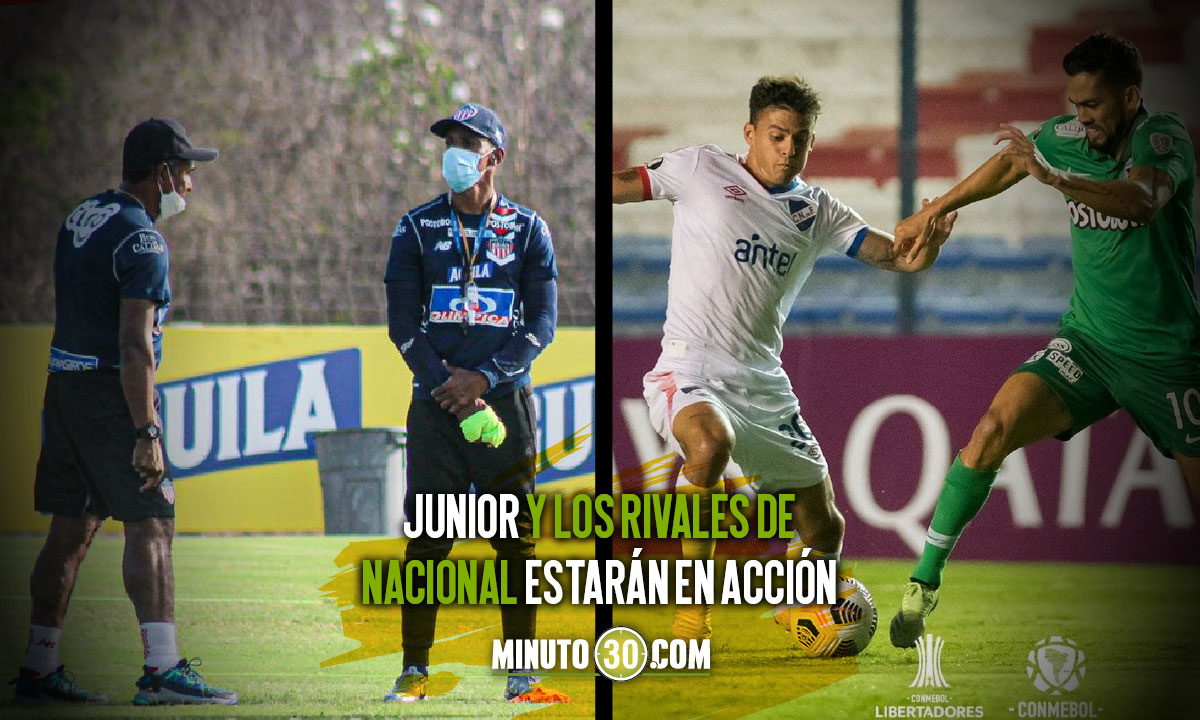 Seis partidos en la programacion de hoy de la Copa Libertadores