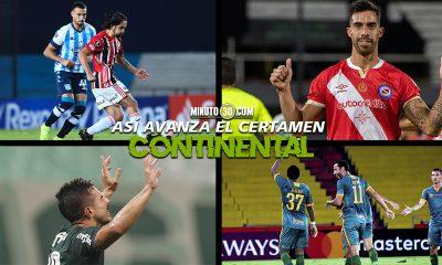 Tablas de posiciones de la Libertadores cumplida la fecha 3 de fase de grupos