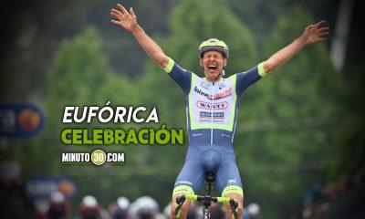 Taco van der Hoorn gano la tercera etapa del Giro de Italia