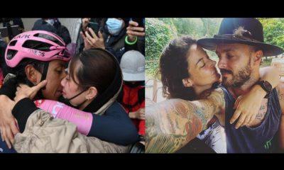 Maleja Restrepo envidió el beso de Egan Bernal y su 'traga', lo que sucedió después causó carcajadas