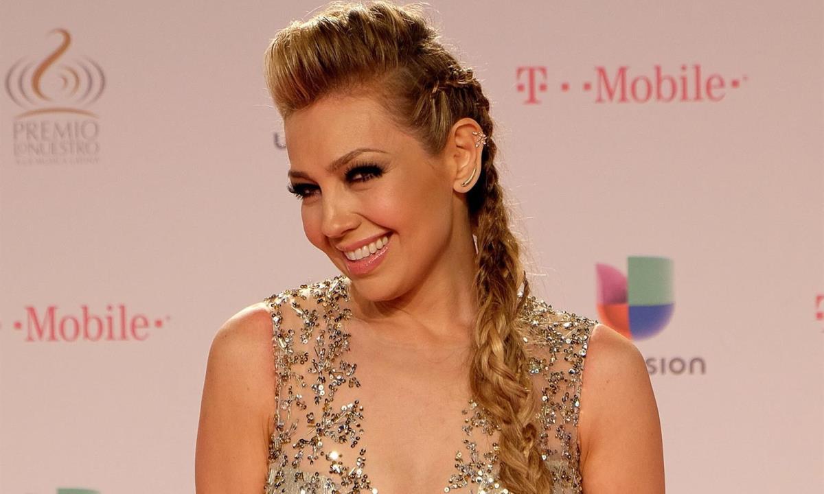 a cantante mexicana Thalia. EFE/ Gastón De Cárdenas/Archivo