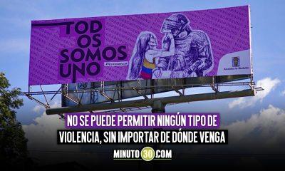 Todos somos uno la reflexion a la que invita Medellin en medio del Paro Nacional