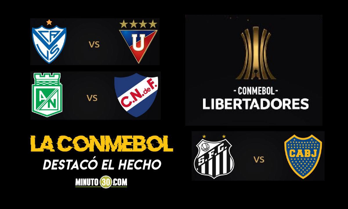Tres partidos entre campeones de Copa Libertadores se disputaran esta semana