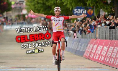 Una caida acabo con la ilusion de Fernando Gaviria en la etapa 8 del Giro de Italia