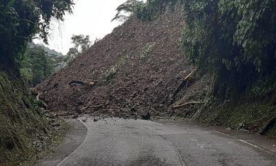 Vía Medellín-Puerto Berrío se encuentra totalmente cerrada