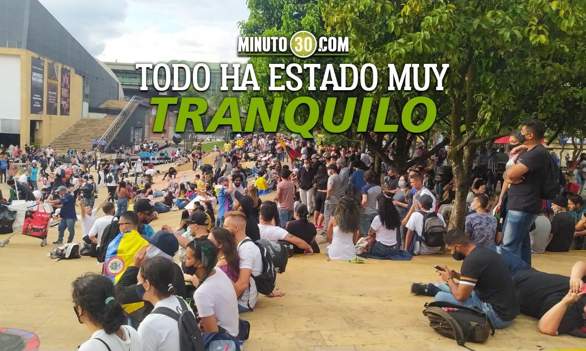 [Videos] Así se adelanta la protesta pacífica en El Parque de los Deseos