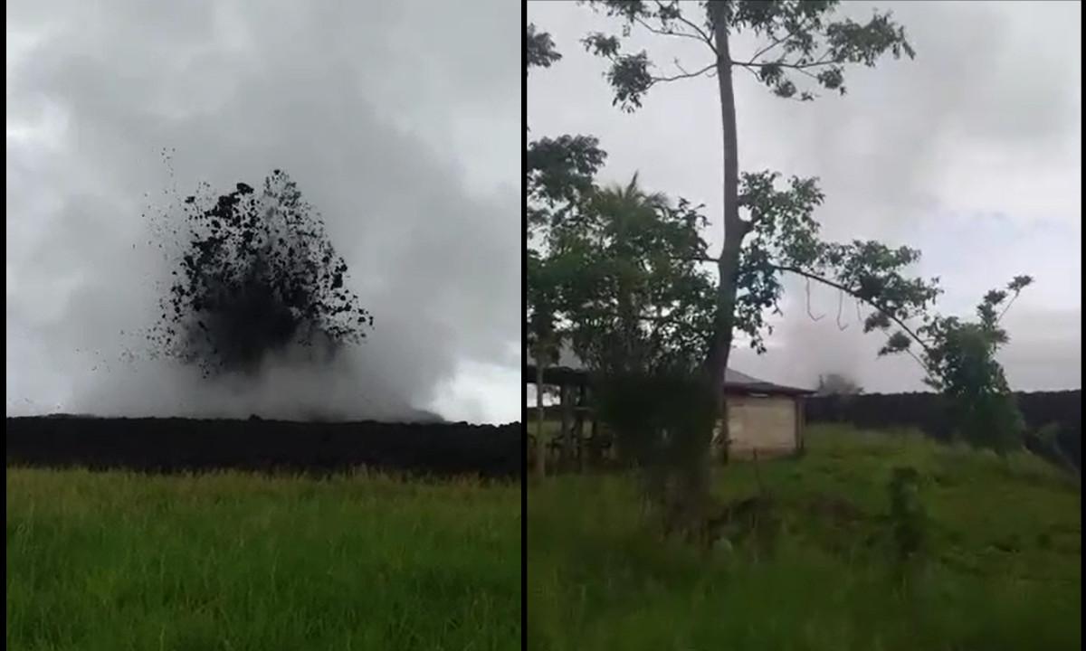 [Video]Familias fueron evacuadas debido a la erupción de un volcán en Necoclí, Antioquia