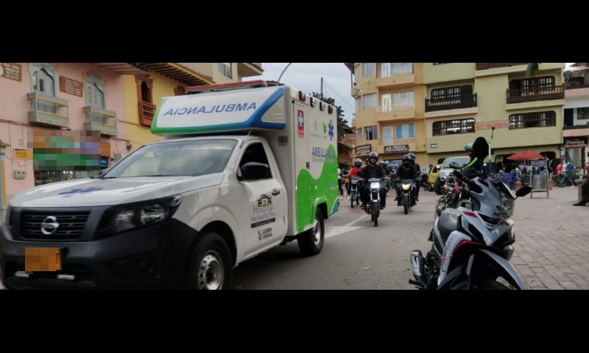 Niño de dos años habría sido atropellado por un vehículo en El Carmen de Viboral