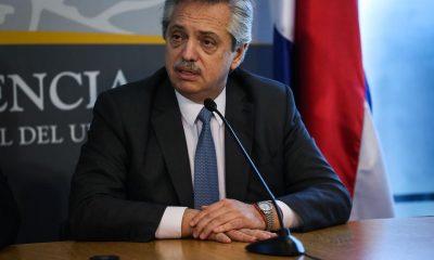 En la imagen, el presidente de Argentina, Alberto Fernández. EFE/ Federico Anfitti/Archivo