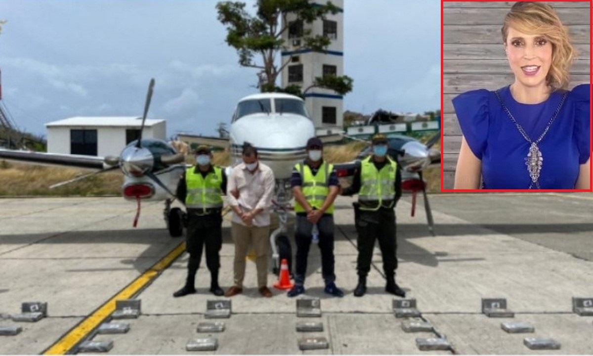 alejandra azcarate esposo avion cocaina