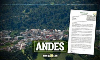 Por amenazas de muerte renunció el Personero de Andes