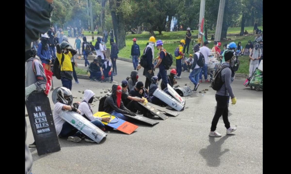 Policía se pronuncia frente a los bloqueos y manifestaciones en Medellín