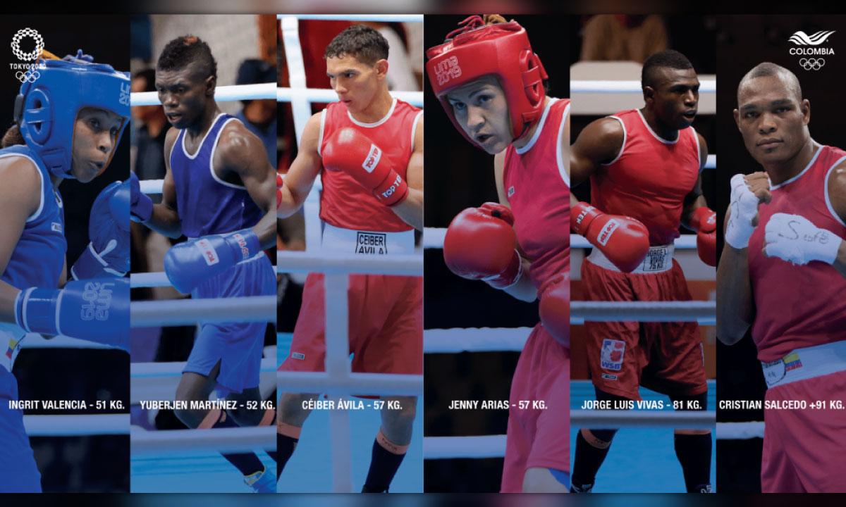 boxeadores colombianos en los Juegos Olimpicos