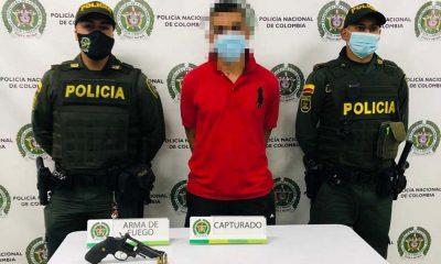 Capturado en Itagüí por llevar un revólver