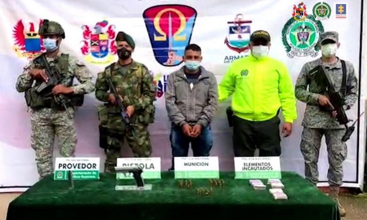 Judicializaron a alias 'Mellizo', presunto disidente de Farc
