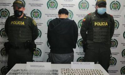 Lo cogieron cargado de estupefacientes en corregimiento de Yarumal, Antioquia
