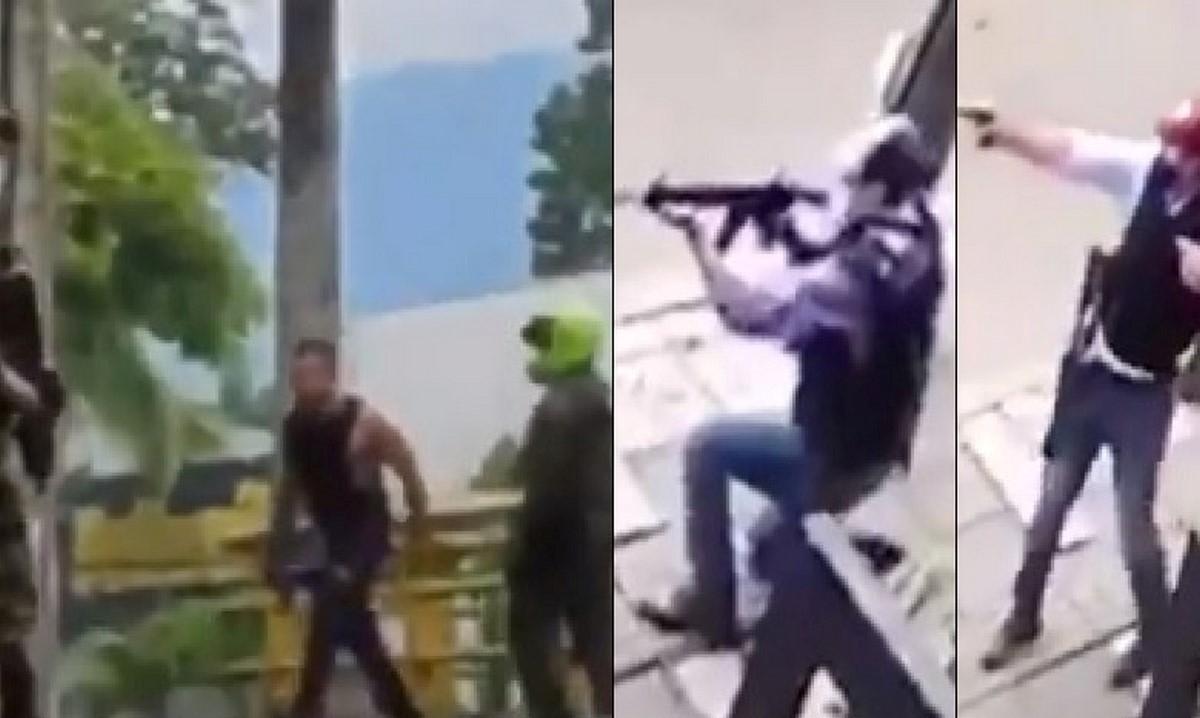 Investigarán si hubo omisión por parte de policías sobre civiles armados disparando en Cali