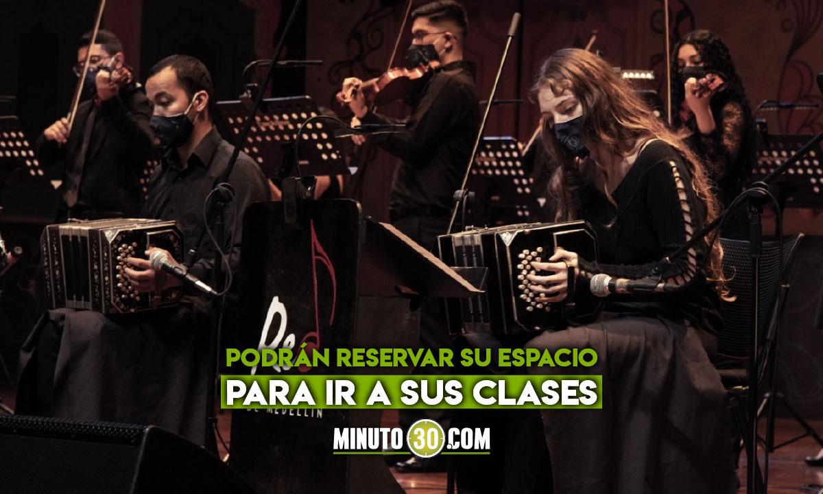 Llega la alternancia a 13 de las Escuelas de Música de Medellín