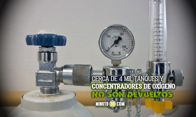 Piden a pacientes en Bogotá que devuelvan tanques de oxígeno que ya no se utilicen