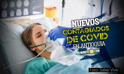 Hoy en Antioquia reportaron 2.024 nuevos contagiados de Covid