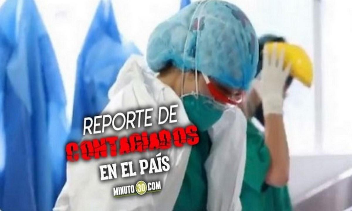 ¡No para! Colombia registró hoy 12.984 nuevos contagiados de Covid