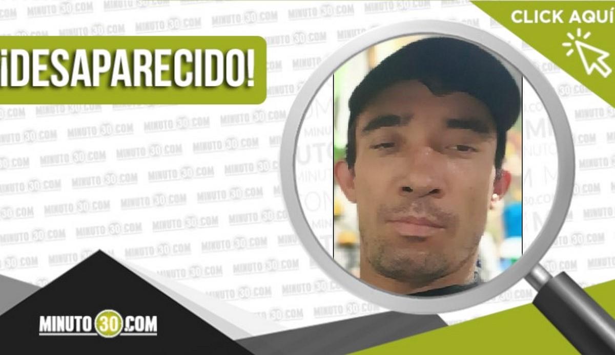 Sebastián Andrés Orozco Giraldo desaparecido
