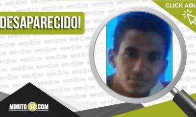 Cristian Jesús Pabón Patiño desaparecido