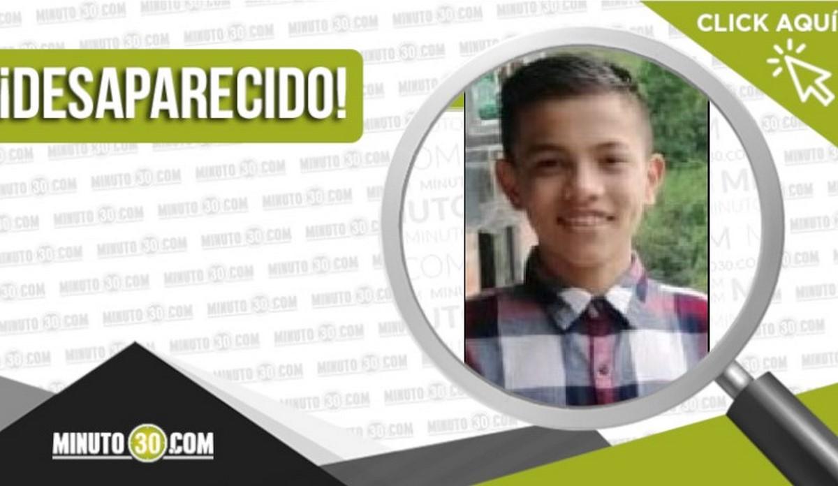 Jeisson Andrés Ríos Sánchez desaparecido