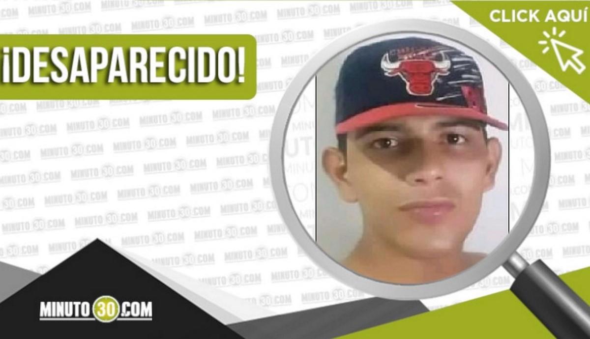 Jaime Andrés Vanegas Velásquez desaparecido