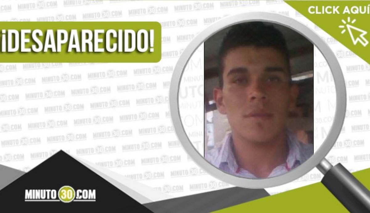 Jeisson Gómez Martínez desaparecido