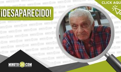 Buscan a Luis Arturo Pérez Escobar de 86 años, desapareció en Chigorodó