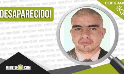 Luis Carlos López desaparecido