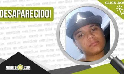Juan Camilo Zambrano López desaparecido
