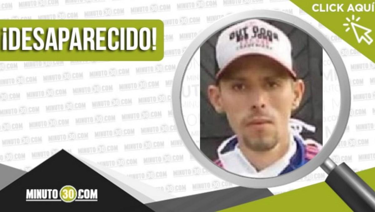 Luis Alejandro Henao Giraldo desaparecido