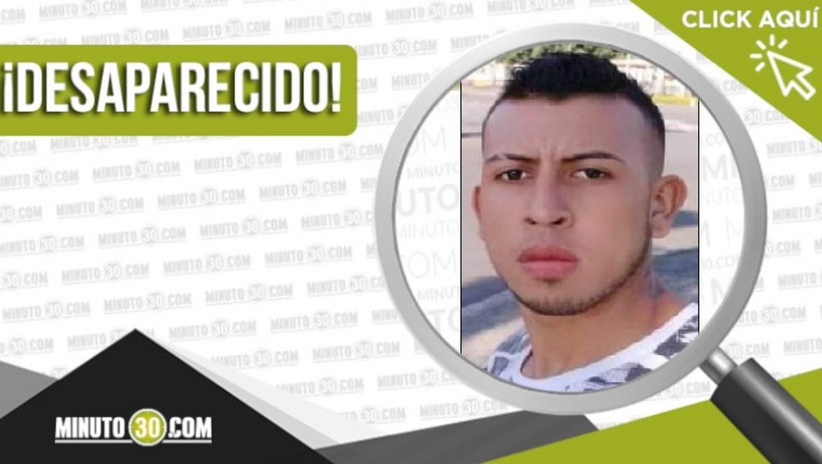 Duvan Tapia Parra desaparecido