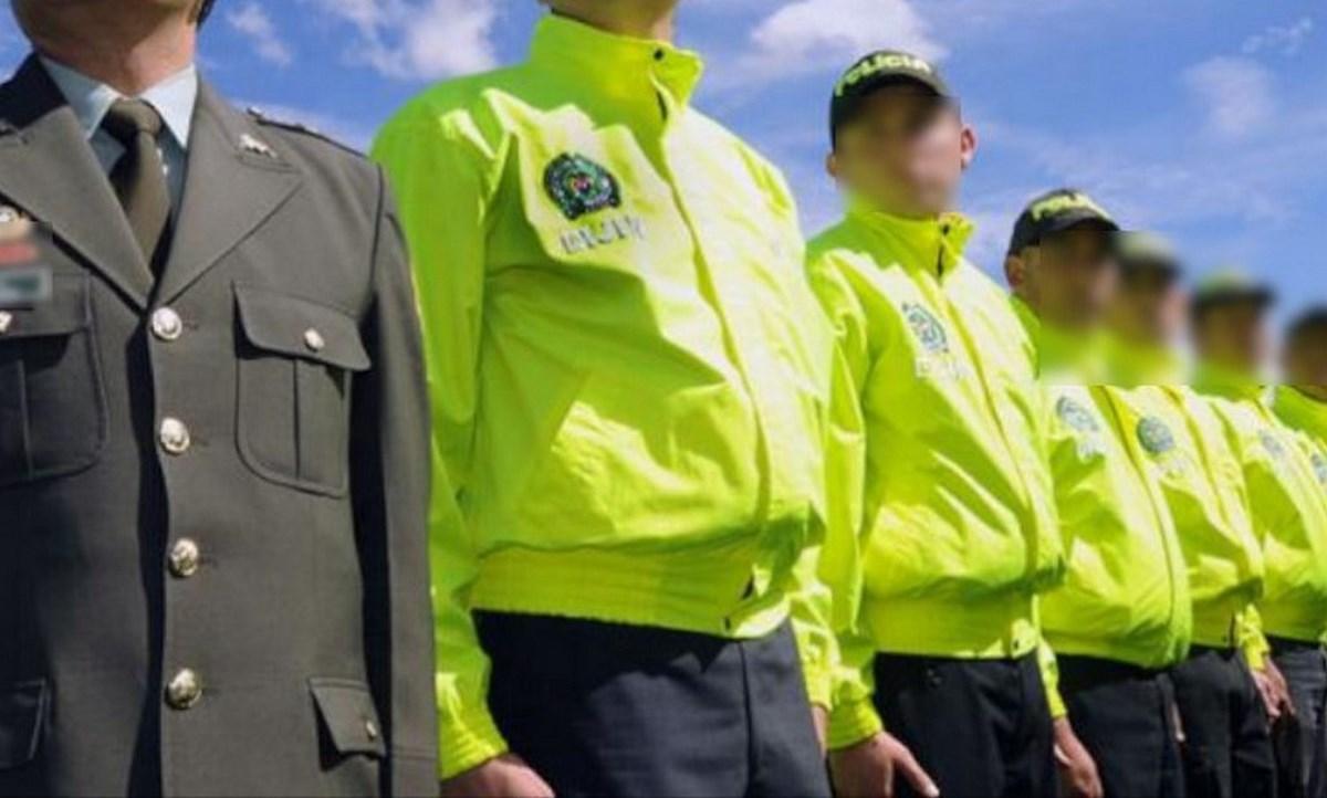 dijin policias uniformados