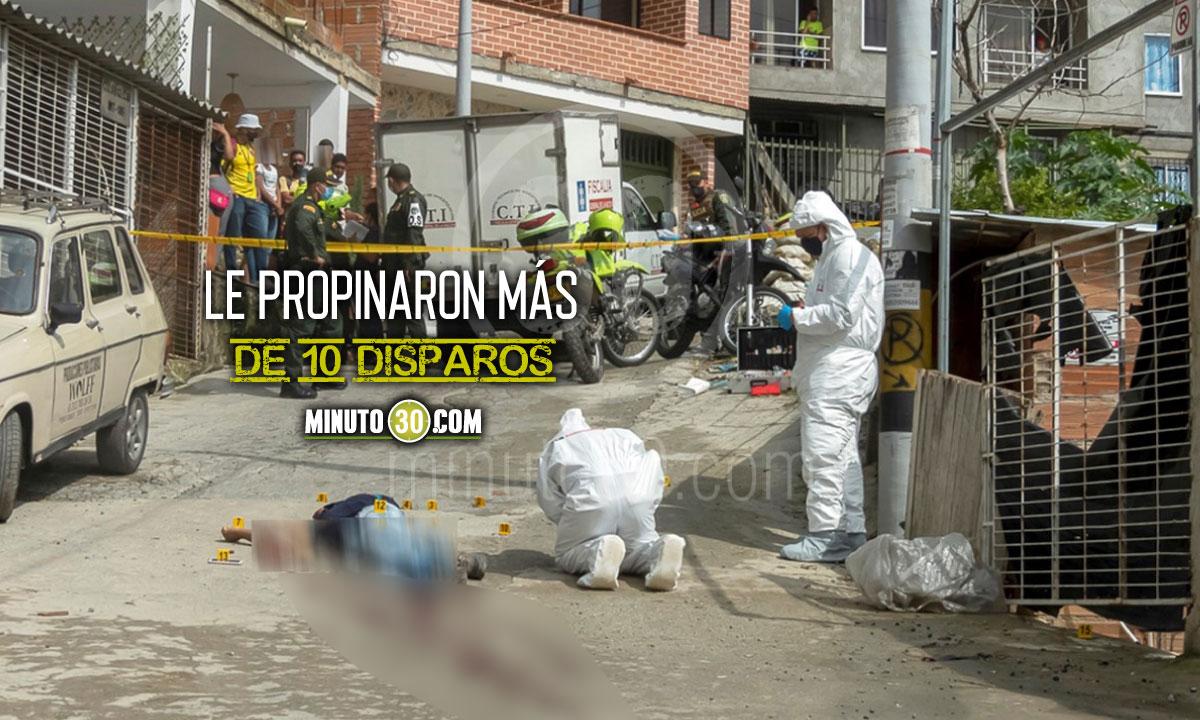 Así fue la inspección técnica del joven venezolano asesinado en Belén Rincón