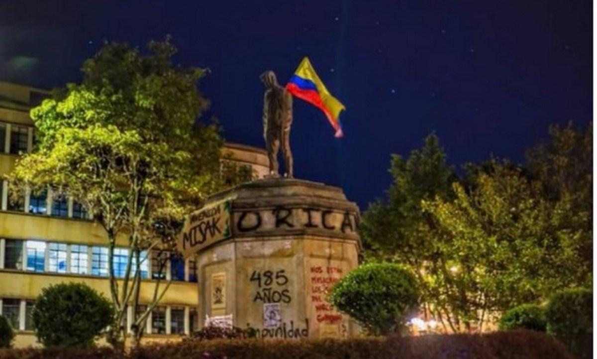 estatua dilan cruz