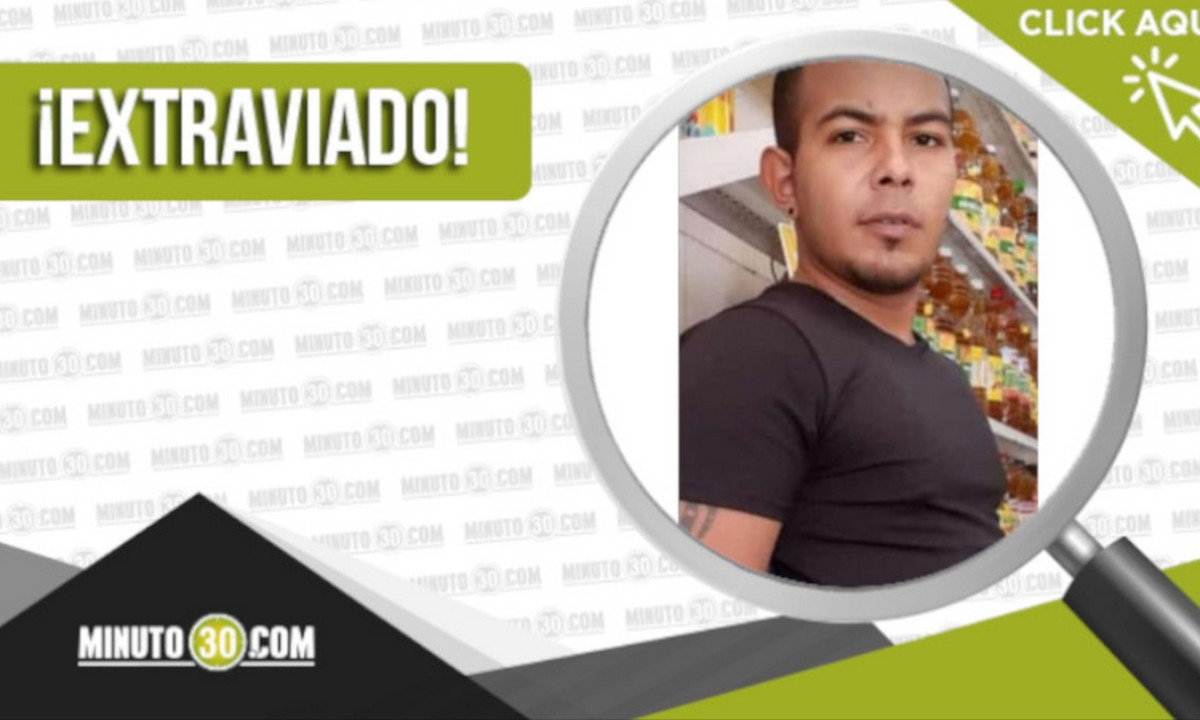 Buscan a Cristian Rainer Ayala Méndez, la última vez fue visto en Enciso