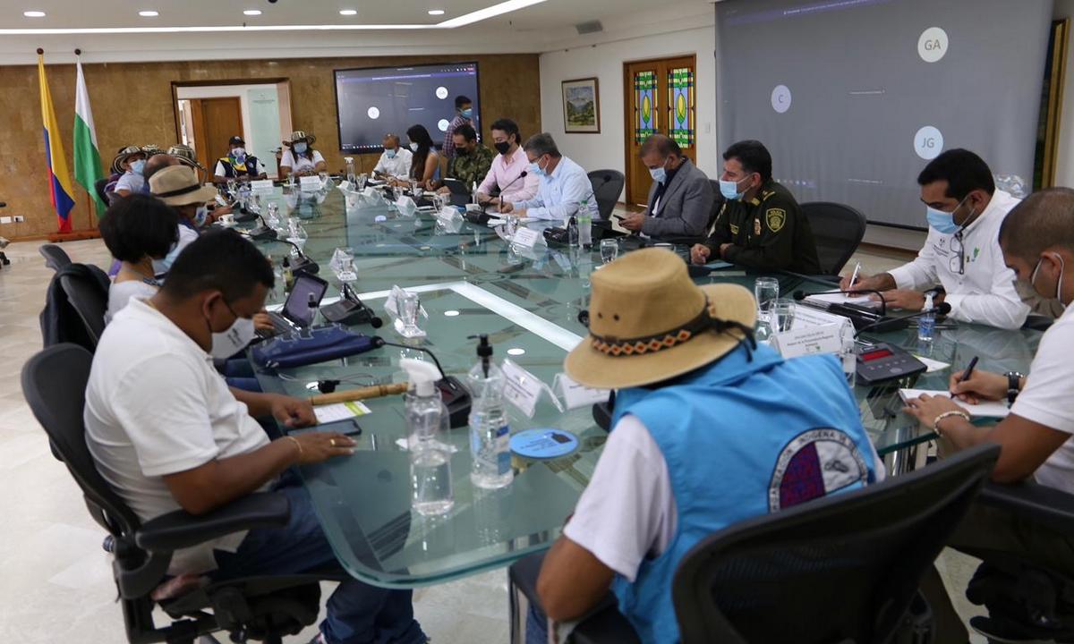 Gobernador-Antioquia-alcalde-Medellín-Minga Indígena