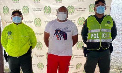 Por hurto capturaron a este hombre en el Chibolo