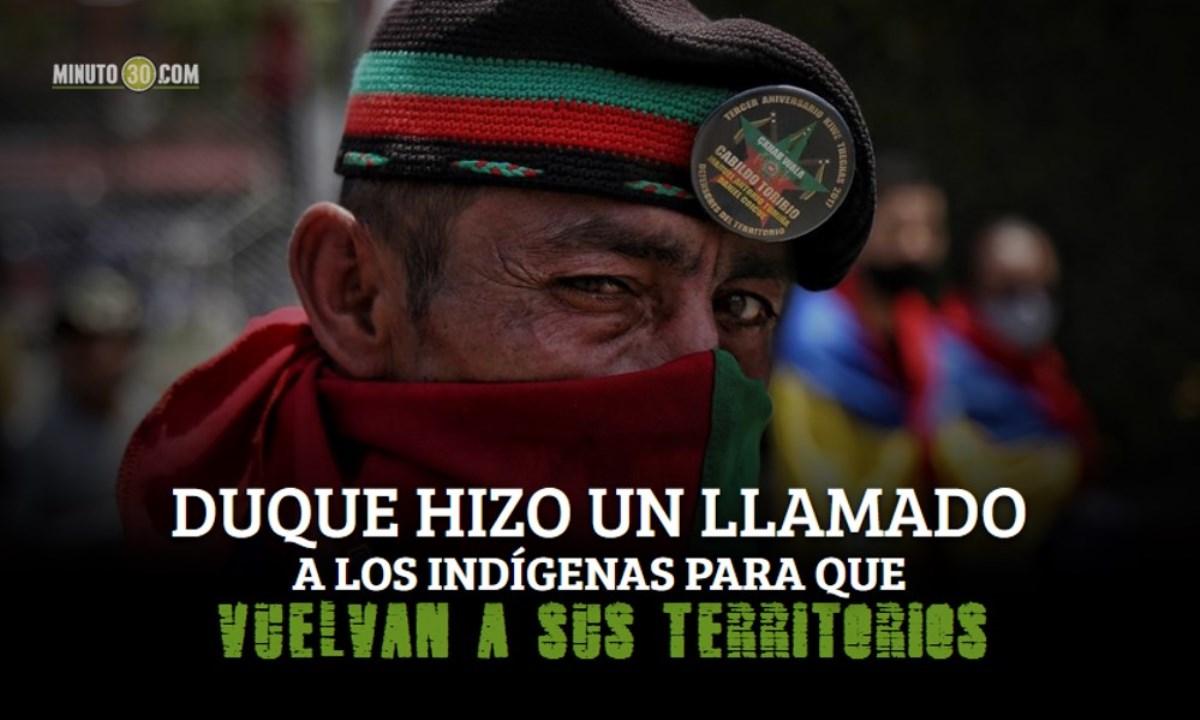 indigenas minga cali