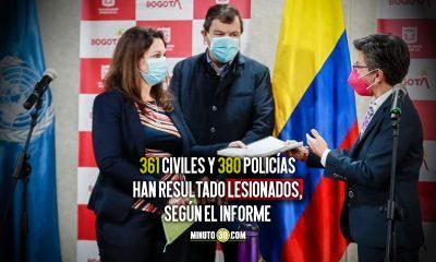 Bogotá entrega primer informe a la ONU sobre violaciones de derechos humanos en protestas
