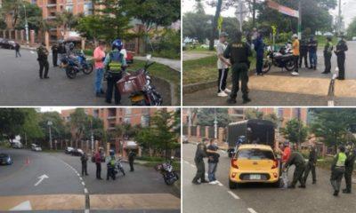 16 comparendos y 6 motos inmovilizadas en la Comuna 12