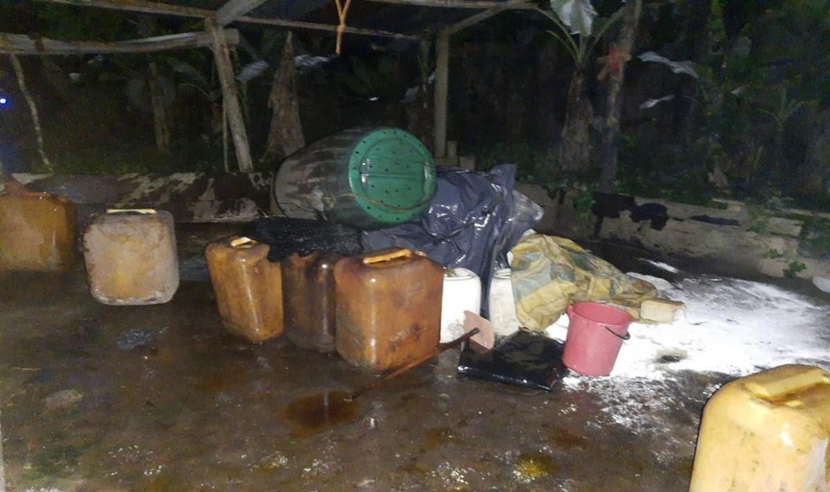 Destruyeron nueve laboratorios de pasta base de coca