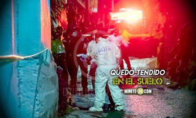 Hombre asesinado a bala en Sabaneta