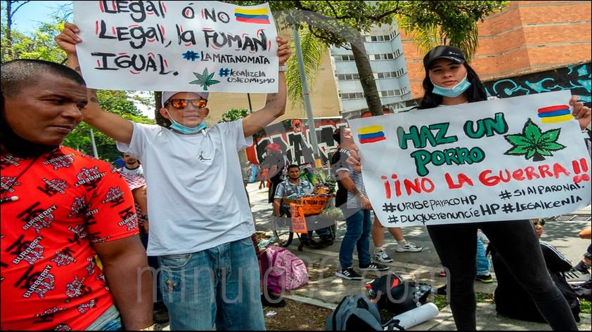 marcha cannabica-Medellín