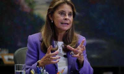 Marta L. Ramírez asegura que la Fuerza Pública ha incautado 40.000 armas en protestas