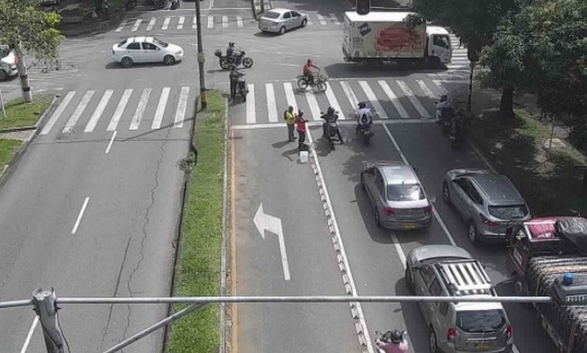 medellin calles movilidad